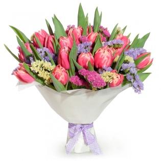 Букеты с декоративными цветами