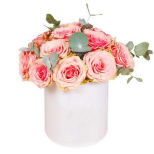 Цветы в коробке «Загадка»